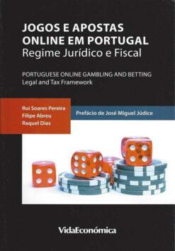 capa do livro jogos e apostas online em portugal