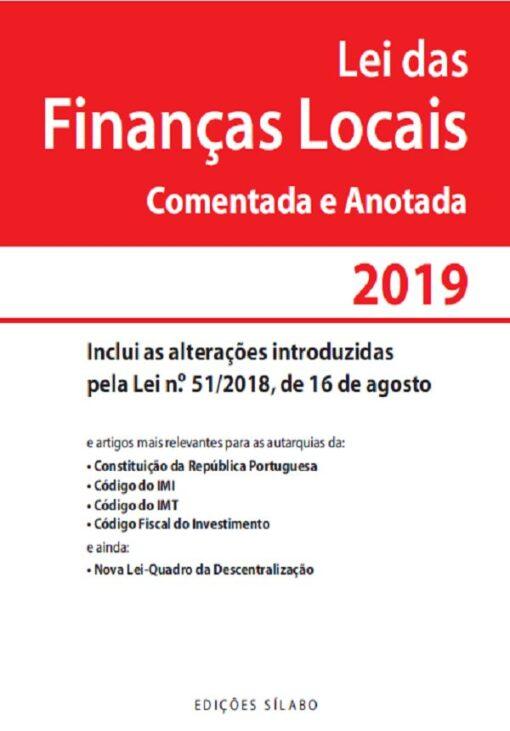 capa do livro lei das financas locais comentada e anotada