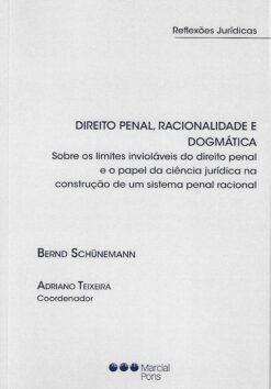 Capa do Livro Direito Penal, Racionalidade e Dogmática