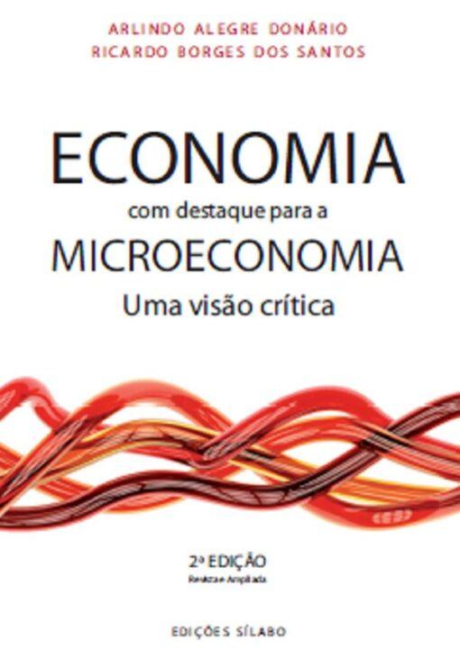 capa do livro Economia com destaque para a microeconomia