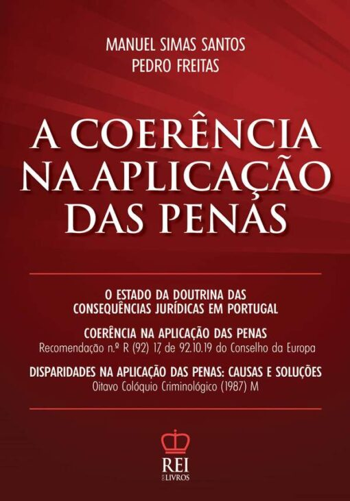 Capa do livro A Coerência na Aplicação das Penas