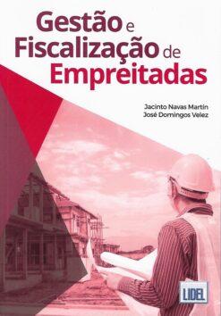 capa do livro Gestão e fiscalização de empreitadas