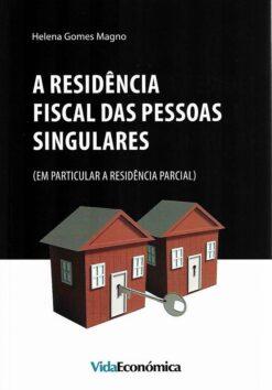 capa do livro a residencia fiscal das pessoas singulares