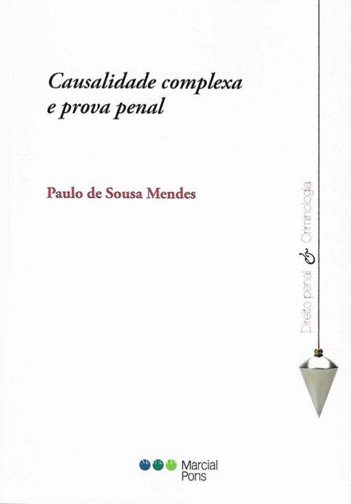 capa do livro causalidade complexa e prova penal
