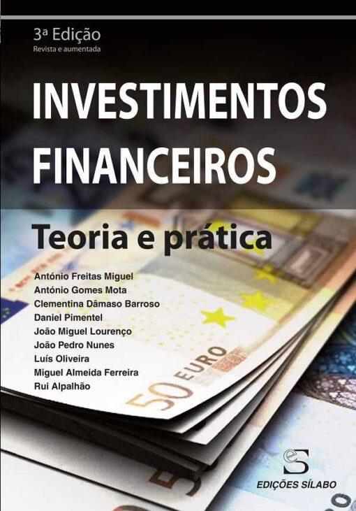 capa do livro investimentos financeiros