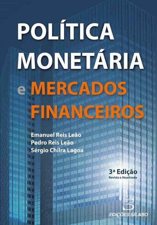 capa do livro politica monetaria e mercados financeiros