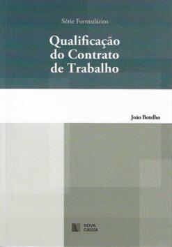 capa do livro qualificação do contrato de trabalho