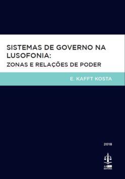 capa do livro sistemas de governo na lusofonia Zonas e relações de poder