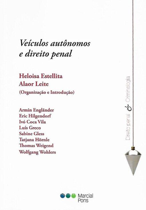 capa do livro veículos autônomos e direito penal