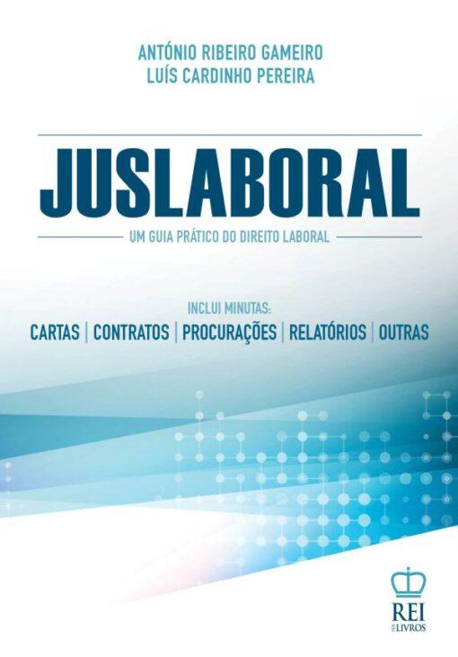 Capa do livro Juslaboral um guia prático do direito laboral