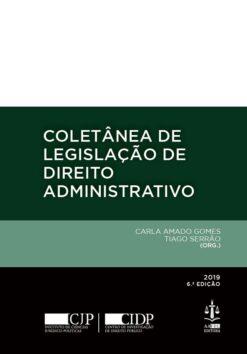 capa do livro Coletânea de Legislação de Direito Administrativo