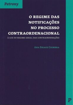 capa do livro O regime das Notificações no processo contraordenacional