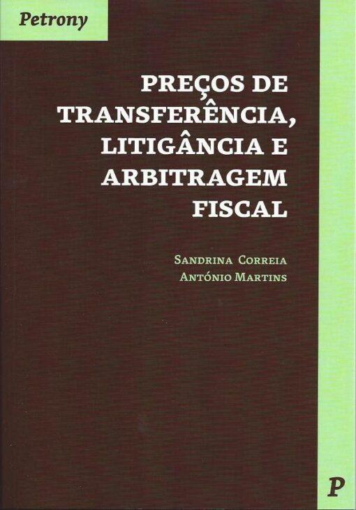 Capa do livro Preços de transferência. Litigância e arbitragem Fiscal