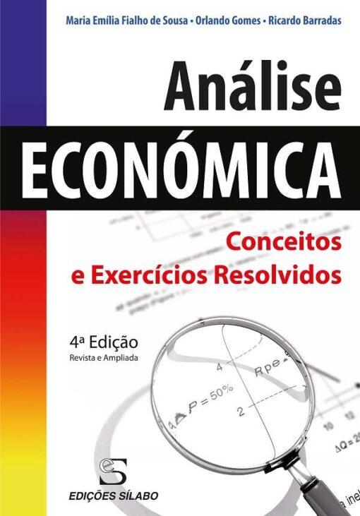 capa do livro analise economica conceitos e exercicios resolvidos