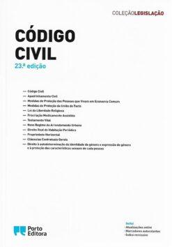capa do livro código civil