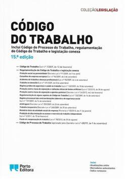 capa do livro código do trabalho