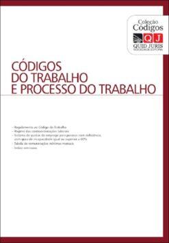 capa do livro codigos do trabalho e processo do trabalho