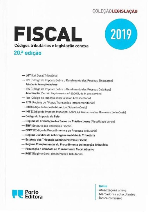 Capa do Livro fiscal 20ª