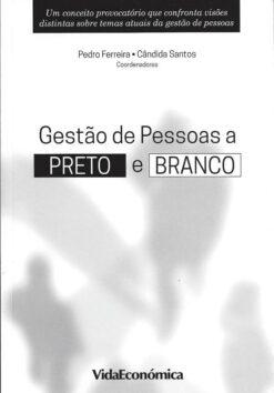 capa do livro gestão de pessoas a preto e branco