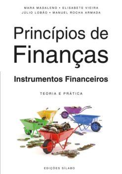 Capa do livro princípios de finanças instrumentos financeiros