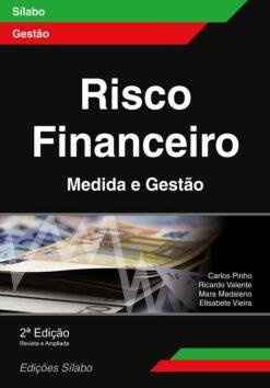 capa do livro risco financeiro medida e gestão