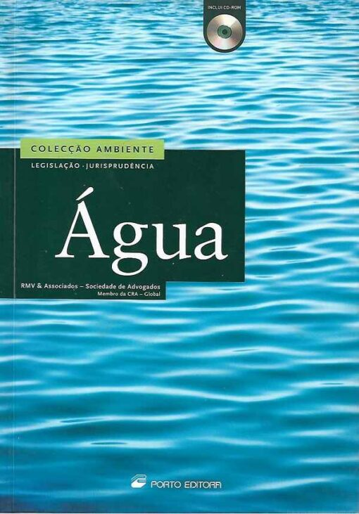 Capa do Livro Água