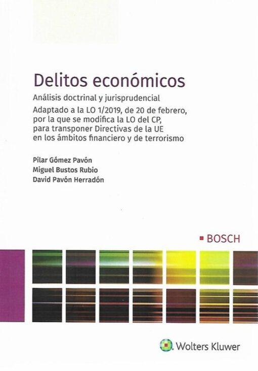 Capa do livro Delitos Económicos Análises Doctrinal y Jurisprudencial