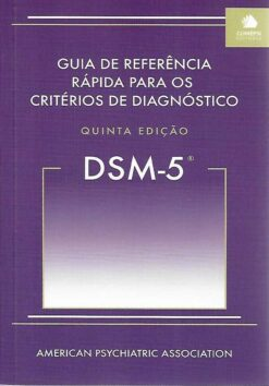 Capa do livro Guia de Referência Rápida para os Critérios de Diagnóstico