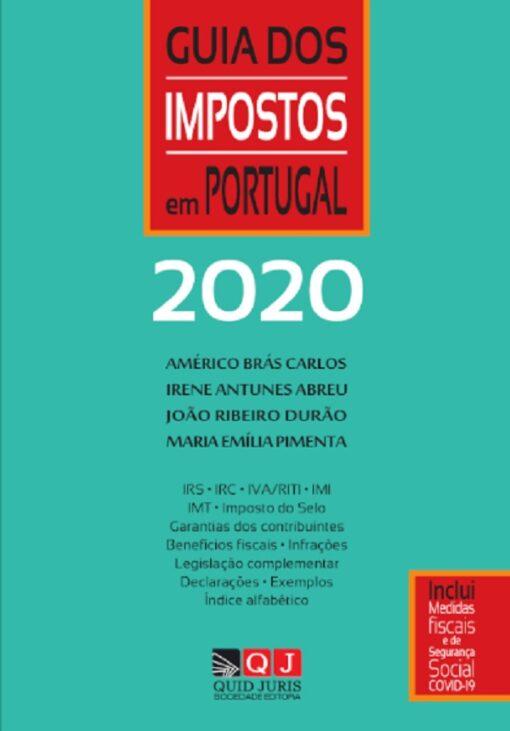 capa do livro Guia dos Impostos 2020