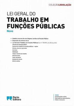 capa do livro Lei geral do trabalho em funções Públicas