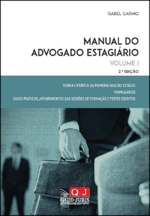 capa do livro Manual do Advogado Estagiário vol I
