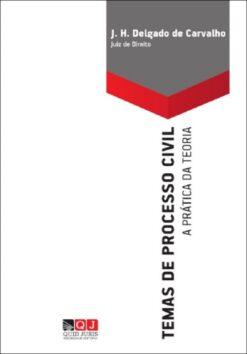 Capa do Livro Temas de Processo civil