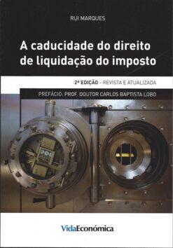 capa do livro a caducidade do direito de liquidação do imposto