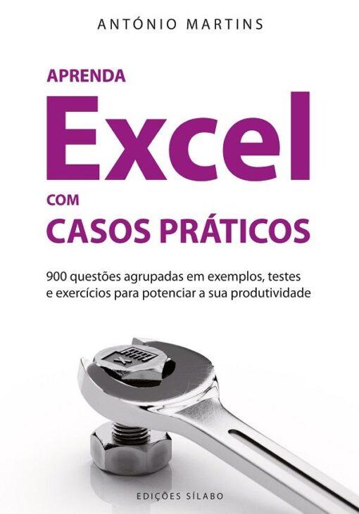 capa do livro aprenda excel com casos praticos