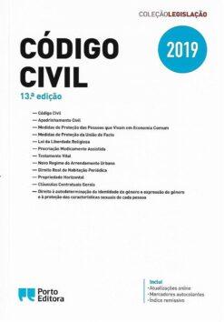 capa do livro código civil 13ª