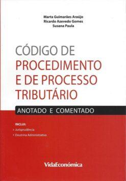 capa do livro codigo de procedimento e de processo tributário