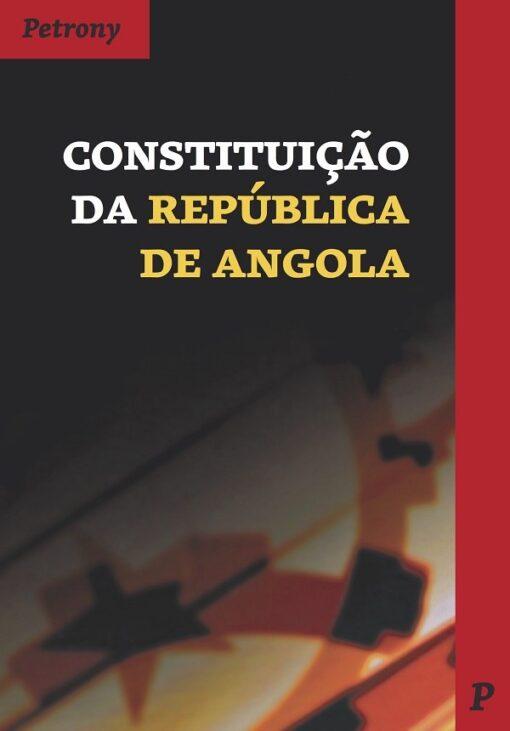 capa do livro constituição da república de angola