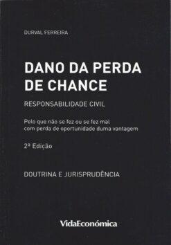 capa do livro dano da perda de chance
