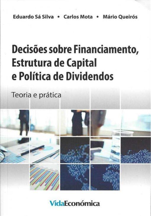 capa do livro decisões sobre financiamento