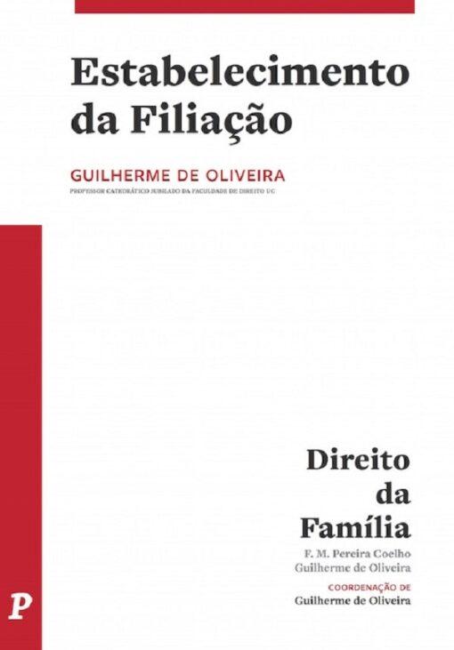 capa do livro estabelecimento da filiação