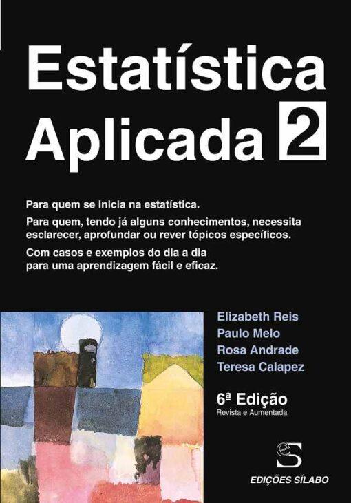 capa do livro estatistica aplicada 2