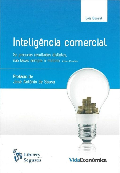 Capa do livro inteligencia comercial