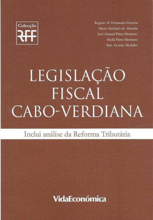 capa do livro legislação fiscal cabo-verdiana