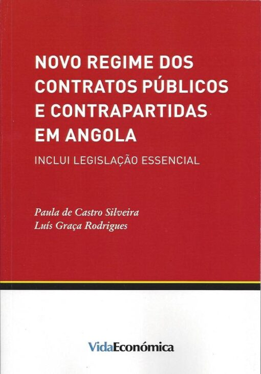 capa do livro novo regime dos contratos publicos