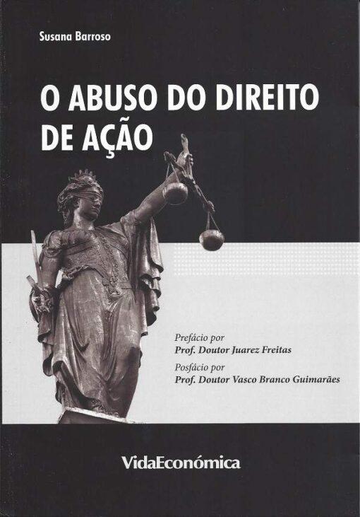 capa do livro o abuso do direito de ação