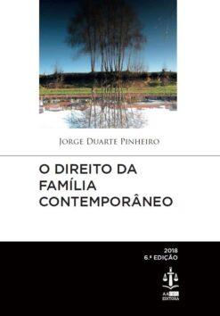 capa do livro o direito da família contemporâneo
