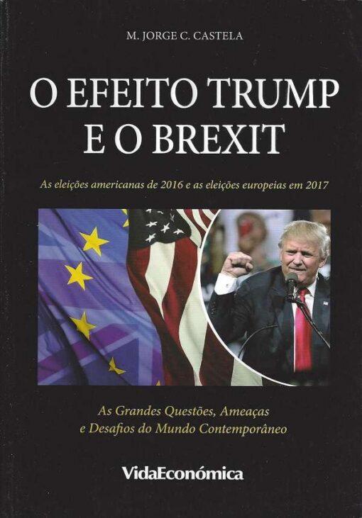 capa do livro o efeito trump e o brexit