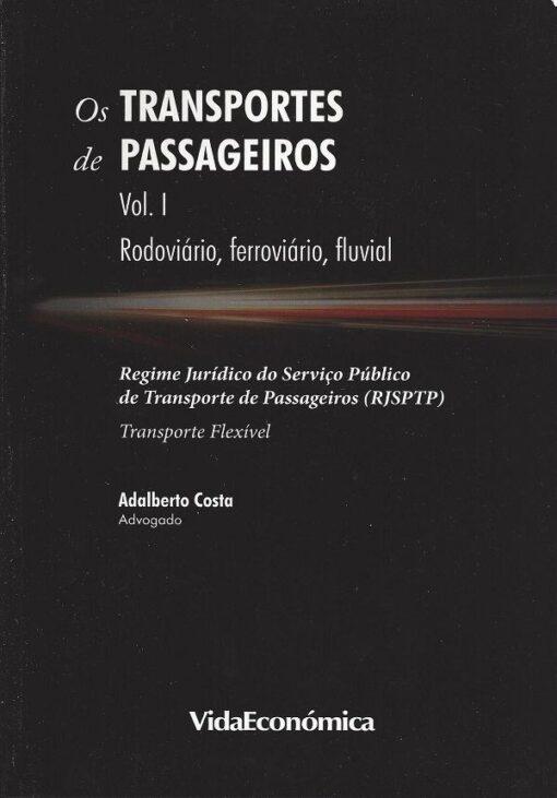 capa do livro os transportes de passageiros