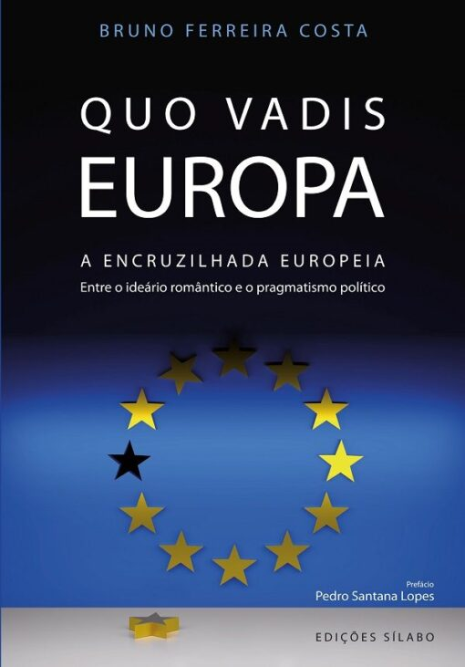 capa do livro quo vadis europa