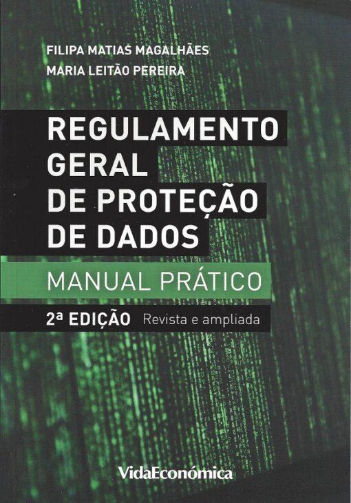 Capa do livro Regumalmento Geral de Protecção de Dados